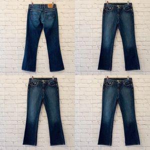 Lucky Brand Denim Boot Cut Jeans